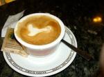 Cappuccino at Tazza d'Oro